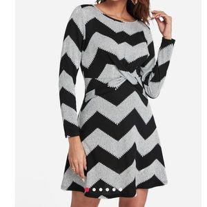 Dresses - Chevron dress medium